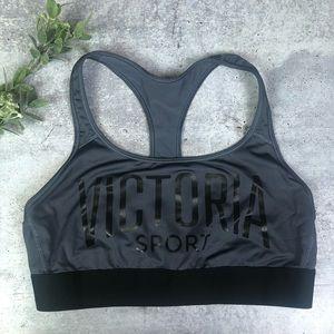 Victoria's Secret Sports Bra Gray Large